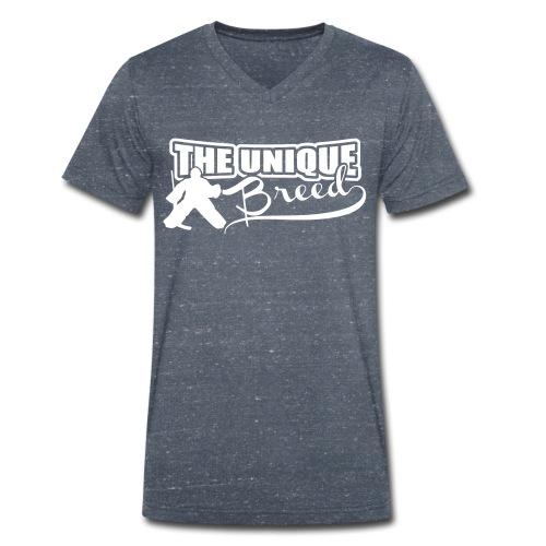 The Unique  Men's V-Neck T-Shirt - Men's Organic V-Neck T-Shirt by Stanley & Stella