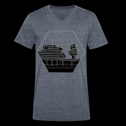 Flughafen Tegel TXL 2 - Männer Bio-T-Shirt mit V-Ausschnitt von Stanley & Stella