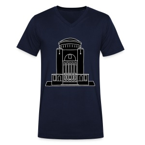 Planetarium Hamburg 2 - Männer Bio-T-Shirt mit V-Ausschnitt von Stanley & Stella