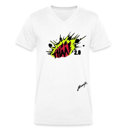 THÄÄ 2.0 - Ekologisk T-shirt med V-ringning herr från Stanley & Stella