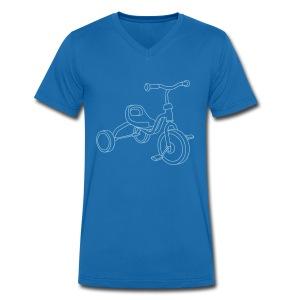 Kinderdreirad - Männer Bio-T-Shirt mit V-Ausschnitt von Stanley & Stella