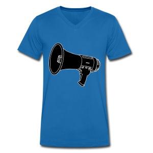 Megafon / Megaphon 2 - Männer Bio-T-Shirt mit V-Ausschnitt von Stanley & Stella