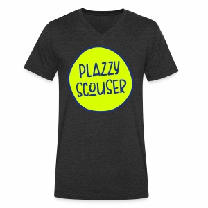 Plazzy Scouser Men's V-Neck T-Shirt - Men's Organic V-Neck T-Shirt by Stanley & Stella