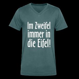 Im Zweifel immer in die Eifel - V-Neck T-Shirt - Männer Bio-T-Shirt mit V-Ausschnitt von Stanley & Stella