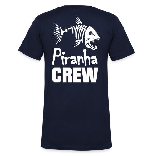 Männershirt Crew - Männer Bio-T-Shirt mit V-Ausschnitt von Stanley & Stella