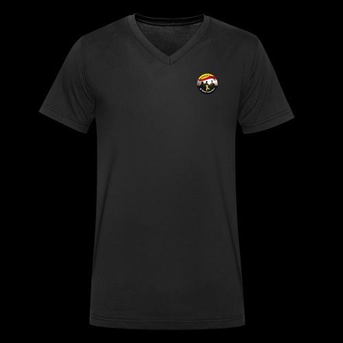 Staff (m) Stanley Stella - Männer Bio-T-Shirt mit V-Ausschnitt von Stanley & Stella