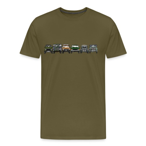 Offroader - Männer Premium T-Shirt