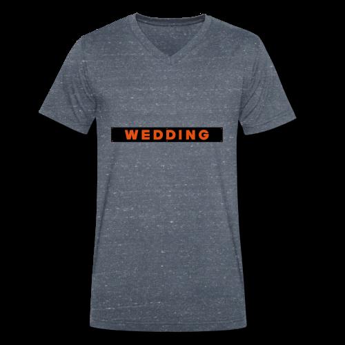 WEDDING Berlin - Männer Bio-T-Shirt mit V-Ausschnitt von Stanley & Stella