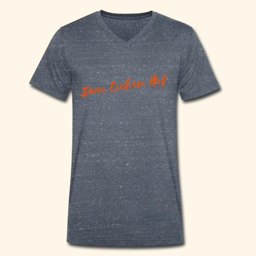 Zwei Eichen Hof T-Shirt Men - Männer Bio-T-Shirt mit V-Ausschnitt von Stanley & Stella