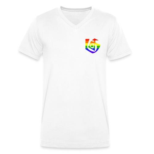 KjGay Shirt Männer Bio - Männer Bio-T-Shirt mit V-Ausschnitt von Stanley & Stella