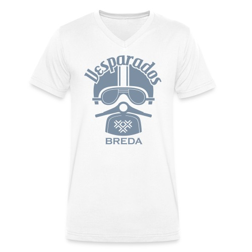 Shirt met Vesparados Breda logo - Mannen bio T-shirt met V-hals van Stanley & Stella
