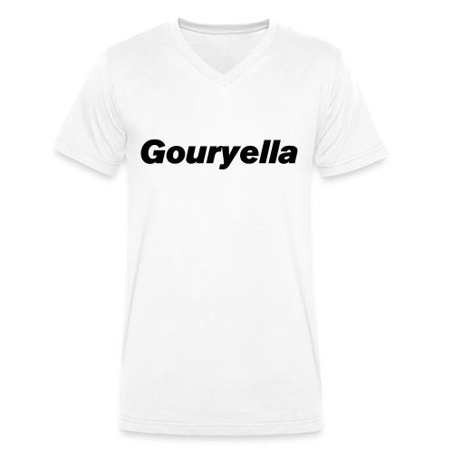 Gouryella t-shirt - Men's Organic V-Neck T-Shirt by Stanley & Stella