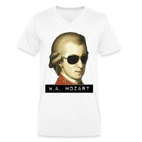 Mozart V-Shirt - Ekologisk T-shirt med V-ringning herr från Stanley & Stella