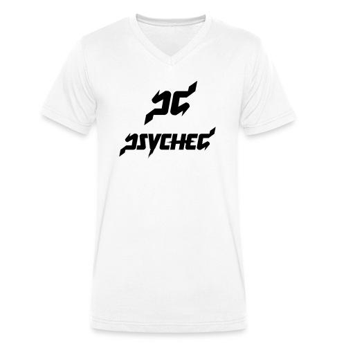 T-shirt V neck Psyched - Mannen bio T-shirt met V-hals van Stanley & Stella