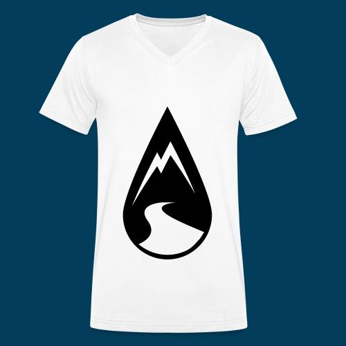 Rhin V-Shirt Drop - Männer Bio-T-Shirt mit V-Ausschnitt von Stanley & Stella