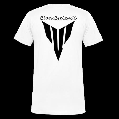TSHIRT col en V hommes / VOTRE NOM DEVANT - T-shirt bio col V Stanley & Stella Homme