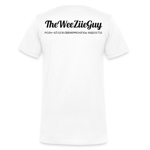TheWeeZiieShirt - Men's Organic V-Neck T-Shirt by Stanley & Stella