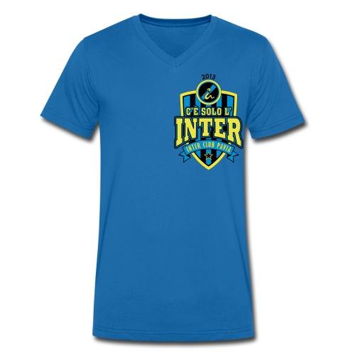 TSHIRT INTER CLUB - T-shirt ecologica da uomo con scollo a V di Stanley & Stella