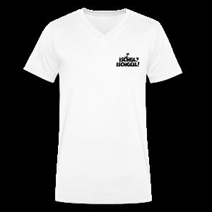 Ischgl Ischgeil Skifahrer V-Neck T-Shirt - Männer Bio-T-Shirt mit V-Ausschnitt von Stanley & Stella