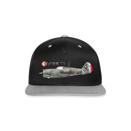 Hawk 75 cap - Contrast Snapback Cap