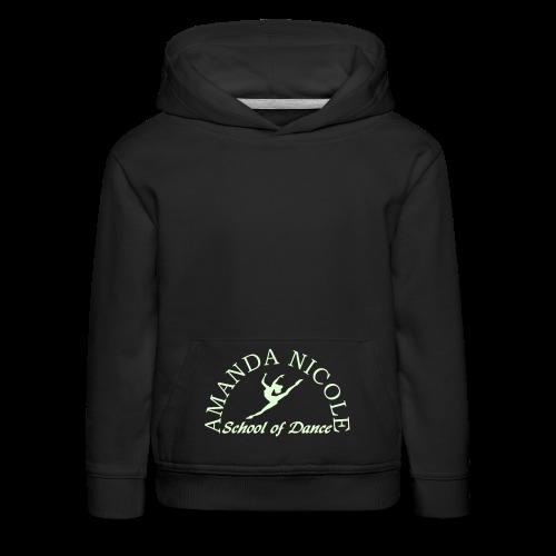 Dance School Glow in the Dark Logo Hoodie - Kids' Premium Hoodie