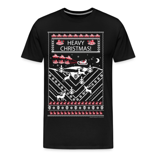 World of Tanks Ugly XMas T-Shirt - Men's Premium T-Shirt