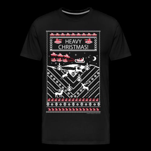 World of Tanks Ugly XMas T-Shirt - Men's Premium T-Shirt