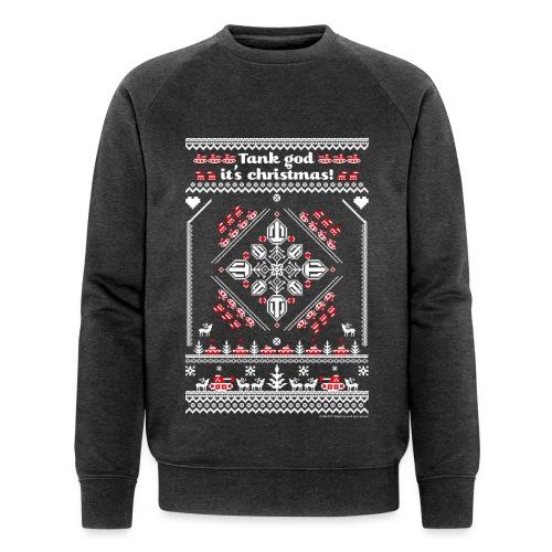 World of Tanks Ugly XMas Sweater - Men's Organic Sweatshirt by Stanley & Stella
