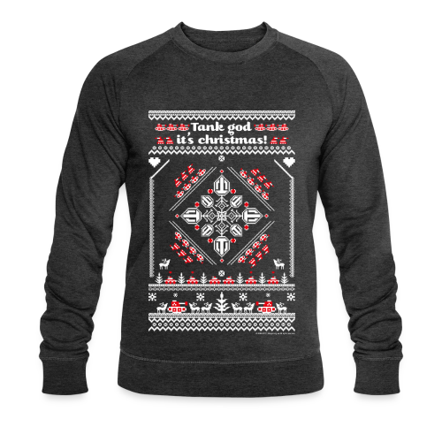 World of Tanks Ugly XMas Sweater - Men's Organic Sweatshirt by Stanley & Stella