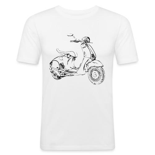Vespa 946 Slim Fit - Männer Slim Fit T-Shirt