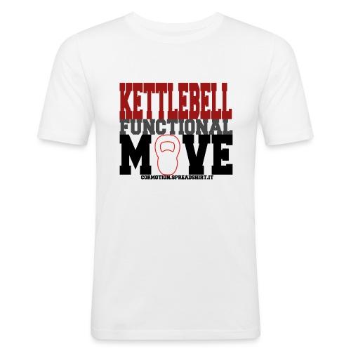 T-shirt  ADERENTE UOMO Kettlebell functional MOVE - Maglietta aderente da uomo