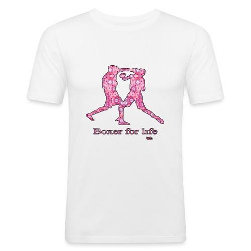 boxer for life - T-shirt près du corps Homme