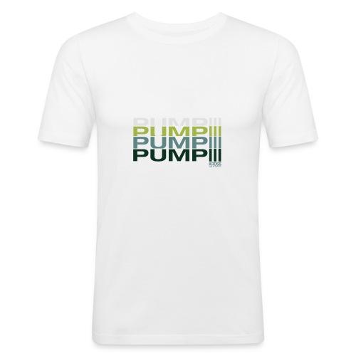 pump! - Männer Slim Fit T-Shirt