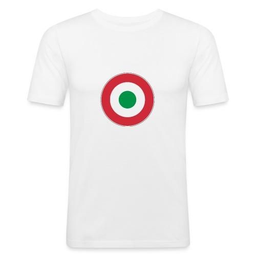 T-Shirt Slim Fit Italia - Maglietta aderente da uomo