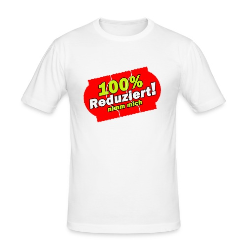 100% Reduziert!!! T-Shirt - Männer Slim Fit T-Shirt