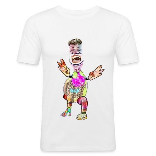 Schlotte Shirt - Männer Slim Fit T-Shirt