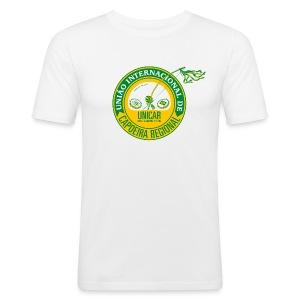"""Trainer """"Magdeburg"""" Fit T-shirt - Männer Slim Fit T-Shirt"""