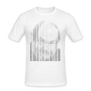 All work and no play (inspired by the Kubrick conspiracies in The Shining) - Men's Slim Fit T-Shirt