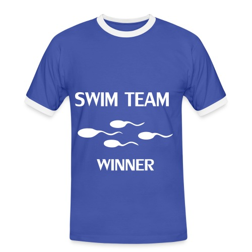 Swim_Team - T-shirt contrasté Homme