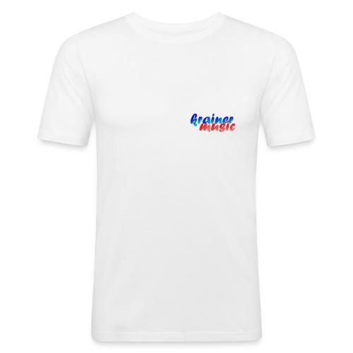 SlimFit Shirt KrainerMusic KM01TS01 - Männer Slim Fit T-Shirt
