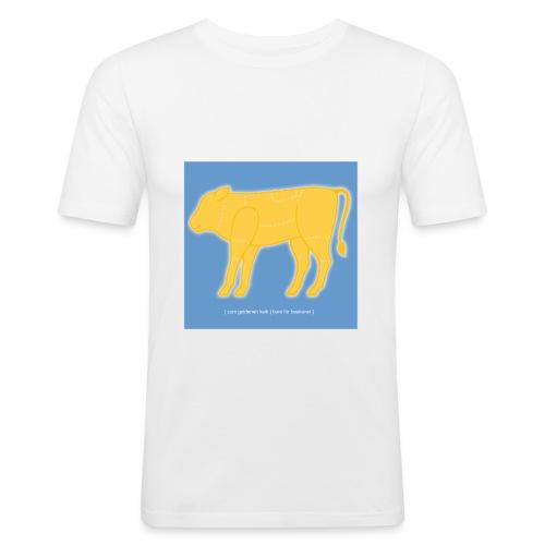 [original] site 'white' - Männer Slim Fit T-Shirt