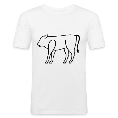 [basic] logo 'pure' - Männer Slim Fit T-Shirt