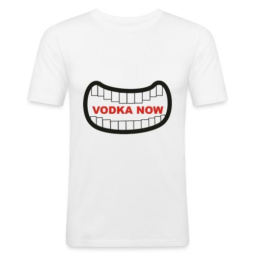 vodka now - Men's Slim Fit T-Shirt