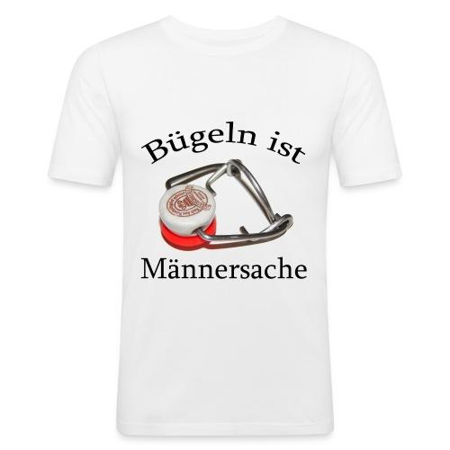 Bügeln ist Männersache - Männer Slim Fit T-Shirt