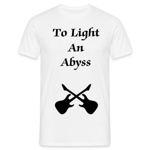 To Light An Abyss guitars - Men's T-Shirt