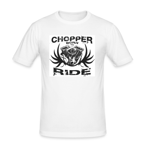 CHOOPER RIDE| T-shirts  biker - T-shirt près du corps Homme