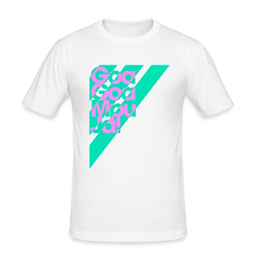 Goa Goa Mpu Ja! - Männer Slim Fit T-Shirt