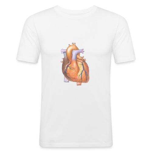 i have a big heart - Maglietta aderente da uomo