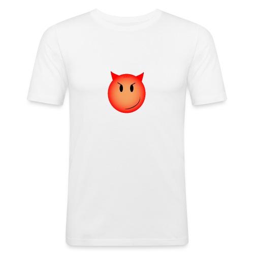 Smiley Diablolique - T-shirt près du corps Homme