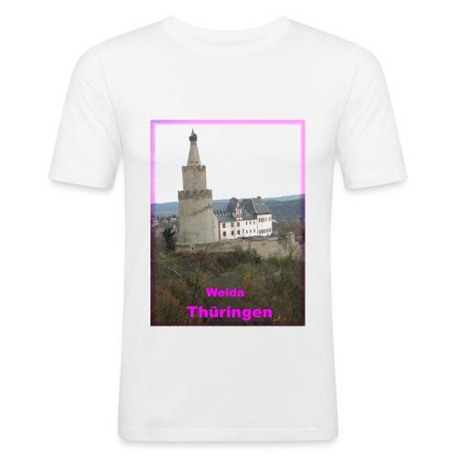 Weida Thüringen - Männer Slim Fit T-Shirt